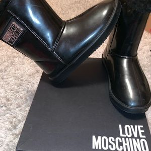 Moschino all weather boots